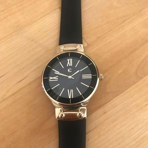 Black & Gold Charming Charlie Watch